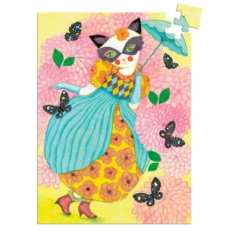 Mini puzzle - Miss tigri, 60 db-os- DJECO
