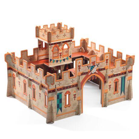 Építőjáték - Középkori vár - Medieval castle Djeco