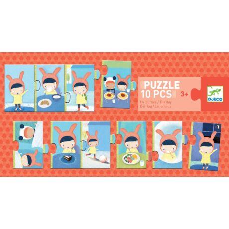 Sorozat puzzle - A napom - The day- DJECO