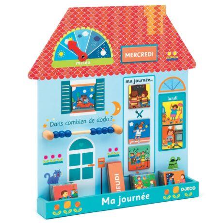 Fejlesztő játék - A napom - Eduludo ma journée - (french)