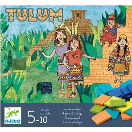 Társasjáték -  Piramisépítő - Tulum- DJECO
