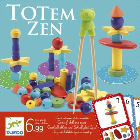 Társasjáték - Biztos fogás -Totem Zen- DJECO