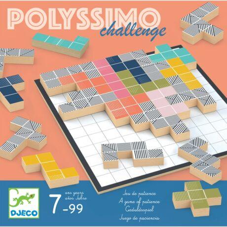 Társasjáték - Térfeltöltő - Polissymo Challenge- DJECO