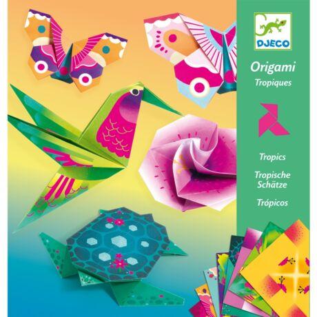 Origami - Trópusokon - Tropics Djeco