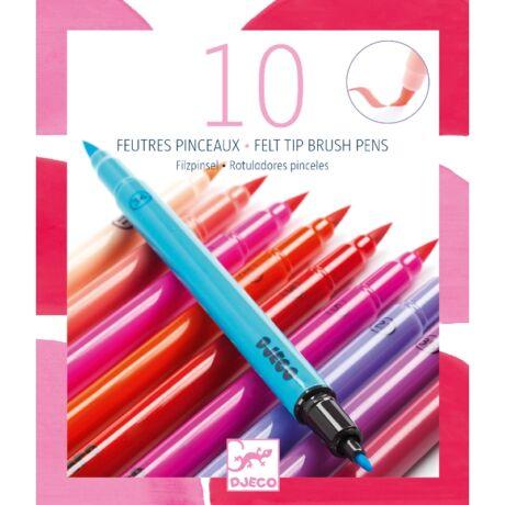 Ecsetfilc készlet - 10 édes szín - Sweet colors- DJECO