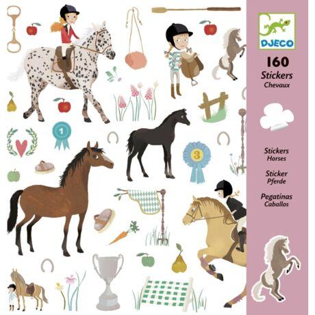 Matricák - Lovak - Horses- DJECO
