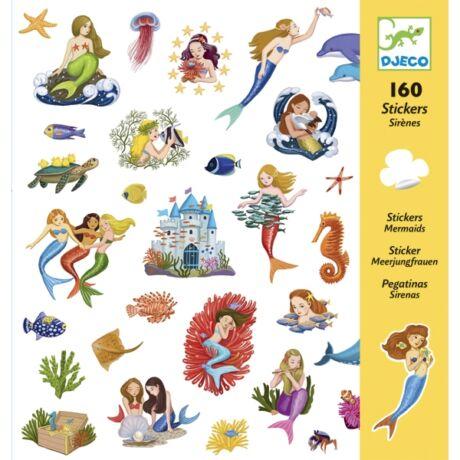 Matricák - Sellők - Mermaids- DJECO