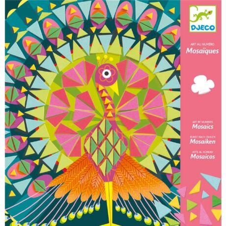 Mozaikkép készítés - Csodás madarak - Coco- DJECO