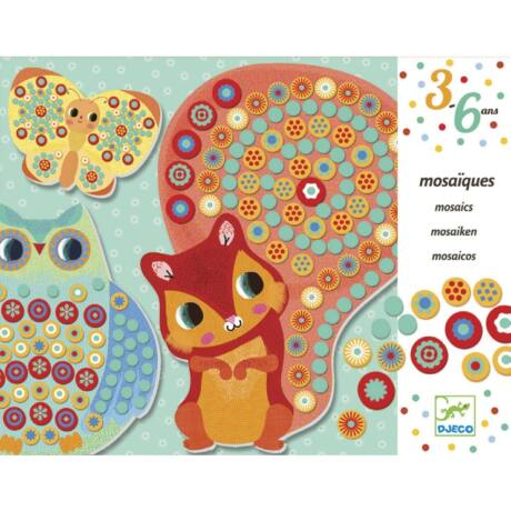 Mozaikkép készítés - Ezer virág - Millefiori- DJECO