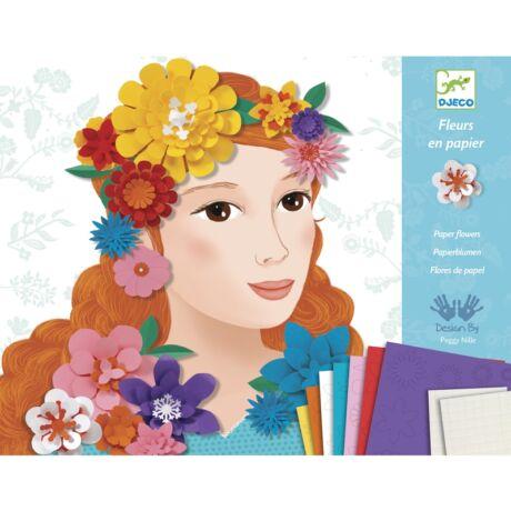 Lányok virágdíszben - Young girls in flowers- DJECO