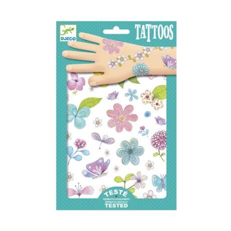 Tetováló matricák - Mezei virágok - Fair flowers of the field- DJECO