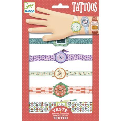 Tetováló matricák - Karórák - Wendy's watches- DJECO