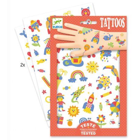 Tetováló matricák - Cuki - So cute- DJECO