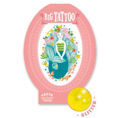 Tetováló matricák - Aqua blue Djeco Design by