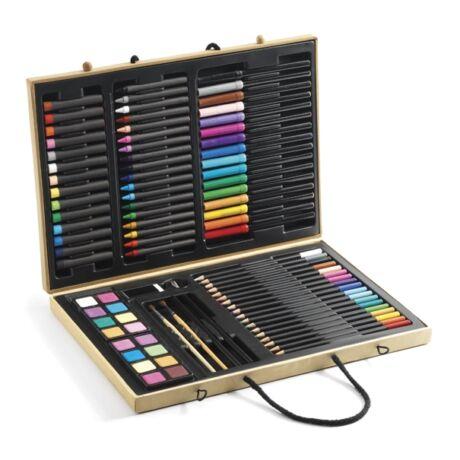 Nagy kreatív készlet - Big box of colours- DJECO