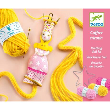 Fonal kötés - Francia Hercegnő - Wool - French knitting Princess Djeco Design by