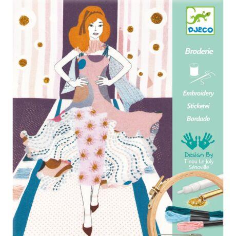 Divattervező műhely - Egyedi estélyi - Fashion week- DJECO