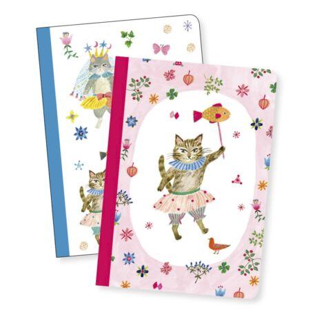 Jegyzetfüzet 2 db A/6 - Aiko little notebooks- DJECO