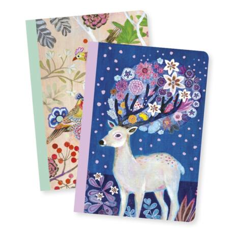 Jegyzetfüzet 2 db A/6 - Martyna little notebooks- DJECO