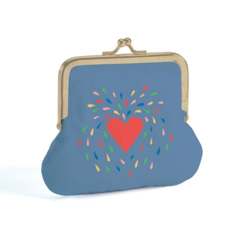 Heart - Lovely purse Djeco