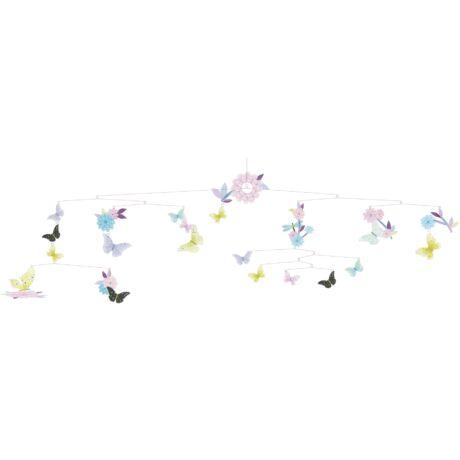 Szélmobil függődísz - Pillangó forgatag - Butterfly twirl- DJECO