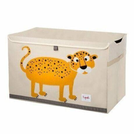 3 Sprouts játéktartó láda leopárd