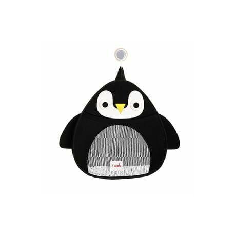 3 Sprouts fürdőszobai fali tároló pingvin
