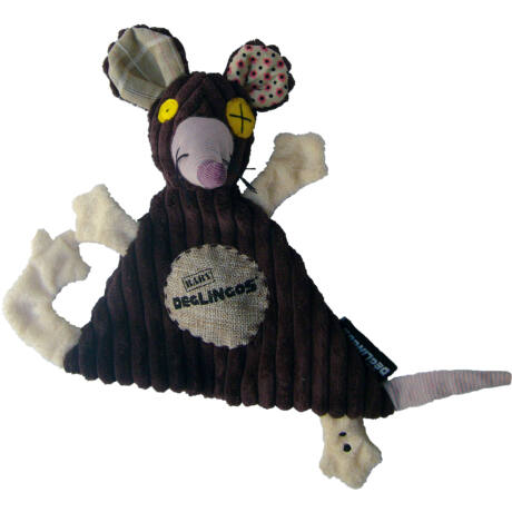 Les Deglingos Baby plüss Szundikendő RATOS - a patkány