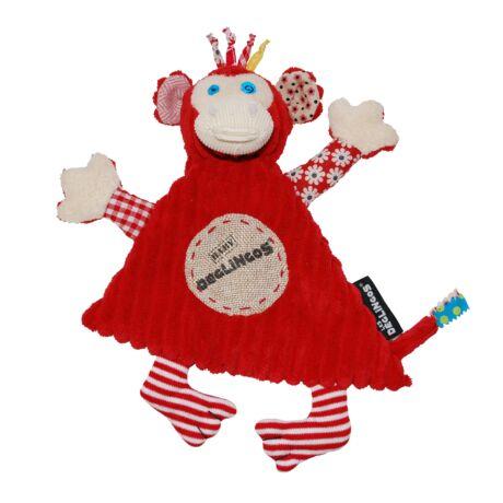 Les Deglingos Baby plüss Szundikendő BOGOS - a majom