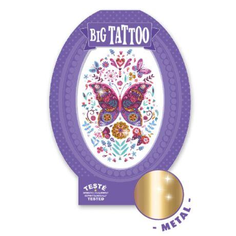 Tetováló matricák - Butterfly Djeco Design by