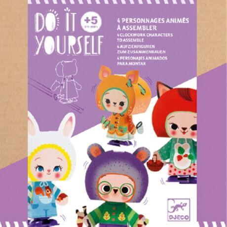 Csináld magad - Cute forest creatures Djeco Design by