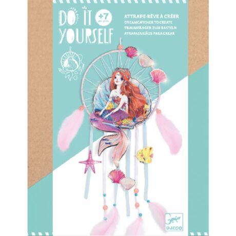 Csináld magad! - Kedves sellő - Gentle mermaid álomfogó Djeco Design by