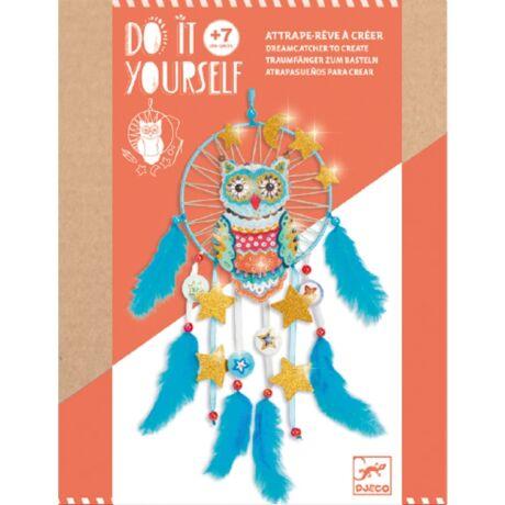 Csináld magad! - Arany bagoly - Golden ow! álomfogó Djeco Design by