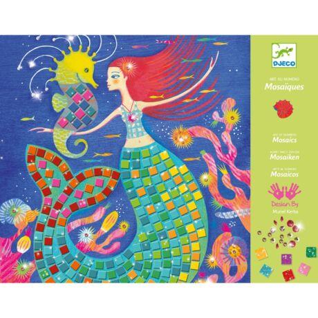 Művészeti műhely - A sellő éneke mozaik készlet - The murmaids' song Djeco Design by