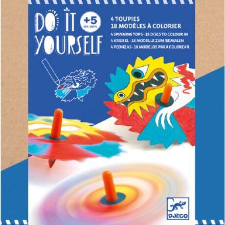 Csináld magad! - Színkeverő pörgettyű - Dragons Djeco Design by