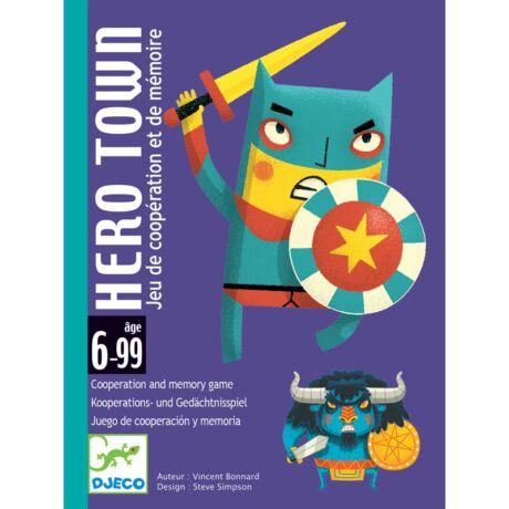 Kártyajáték Hős város - Hero Town Djeco