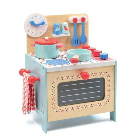 Kék kiskonyha - Blue cooker Djeco