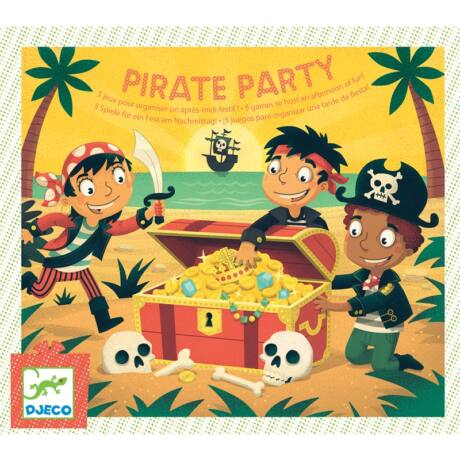 Partijáték - Pirate Party Djeco