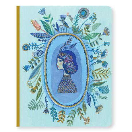 Jegyzetfüzet A/5 - Aurelia notebook Djeco Lovely Paper