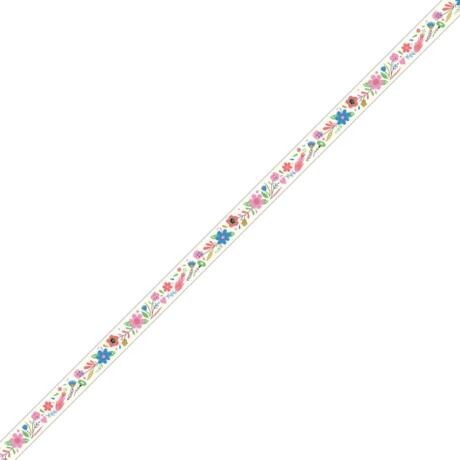 Dekorminta nyomtató - Virágok - Flowers decorative tape Djeco Lovely Paper