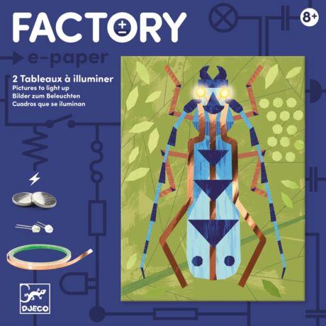 E-kreatív műhely - Rovargyűjtemény - Insectarium - Djeco