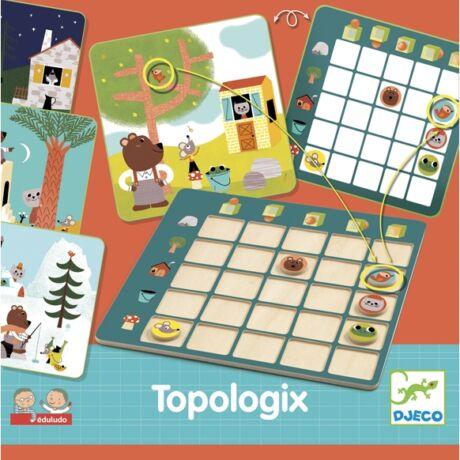 Fejlesztő játék - Viszonyító - Eduludo Topologix- DJECO