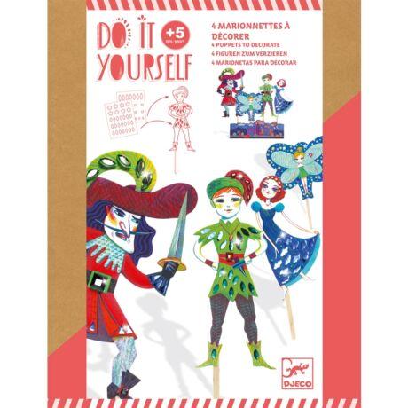 Csináld magad! - Pálcás báb figurák - Peter Pan