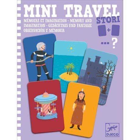 Mini utazó játék - Történetszövés-memória - Stori- DJECO