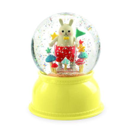 Jelzőfény - Nyuszis csillámgömb - Small rabbit- DJECO