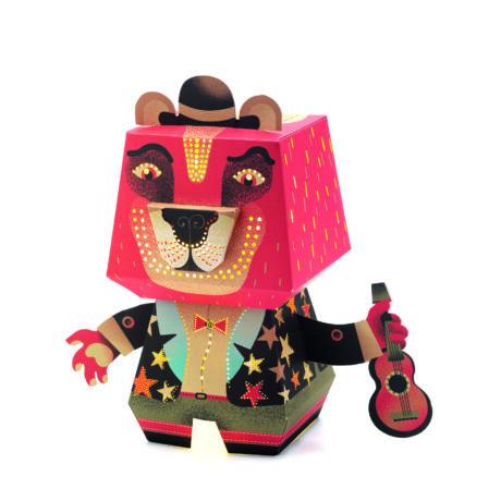 Éjszakai papír lámpás - Arty Bear- DJECO