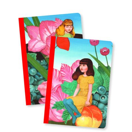 Jegyzetfüzet 2 db A/6 - Fedora little notebooks- DJECO