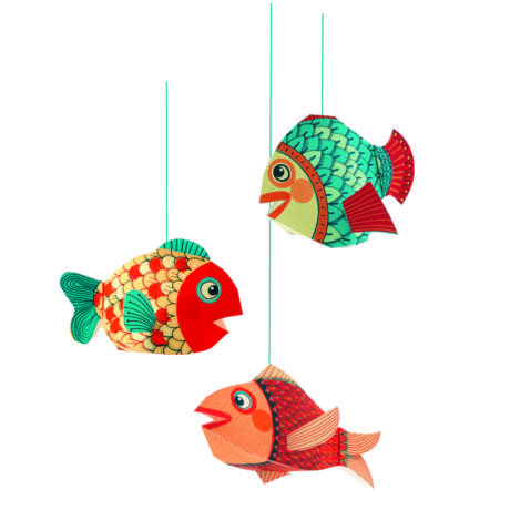 3D-s függödísz - Halak - Little fishes- DJECO