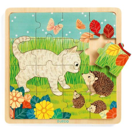 Képkirakó, puzzle - Kert puzzle - Puzzlo Garden- DJECO