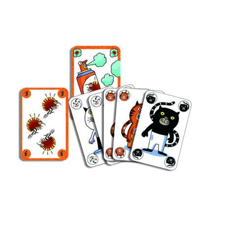 Kártyajáték - Csapj le rá! - Sakapuss - DJECO